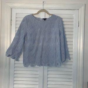 Ann Taylor eyelet blouse! Gorgeous! Size M